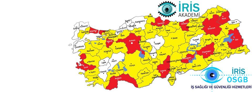 İris OSGB Tüm Türkiye'de Hizmet OSGB Hizmeti Vermektedir